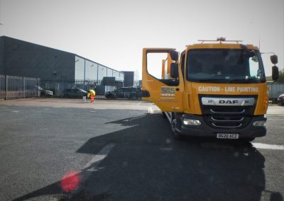 Road marking companies UK